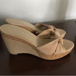 Nine West Tan Size 6 Wedges